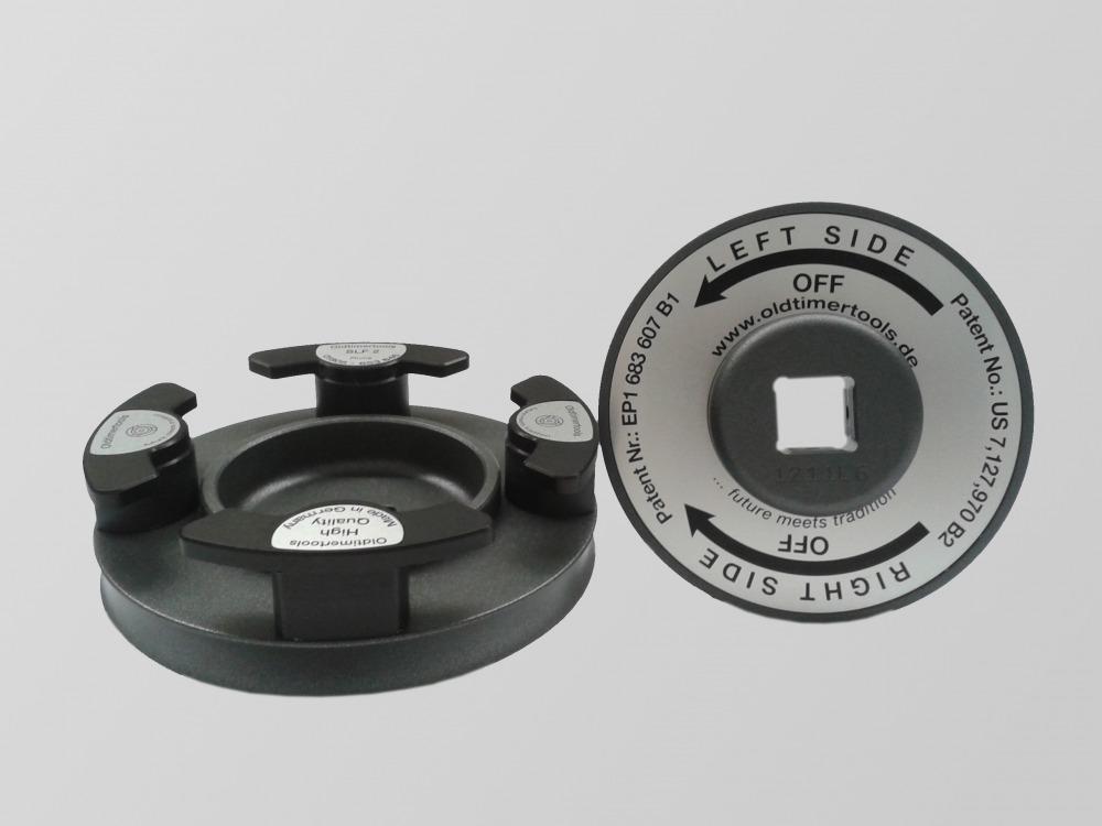 Premium knock off spinner tool / spinner removal tool for Delahaye DLA-2