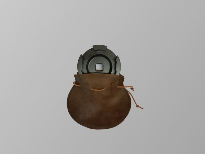 Ledersack für Standard / High-Quality Flügelmutter und Achtkant-Werkzeuge